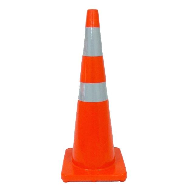 New Zealand Compliant Road Cones Traffic Cone On Road