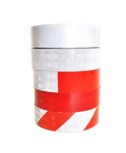 3M conspicuity Red white adhesive