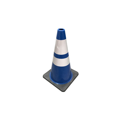 Blackbase Blue white cones