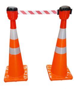 orange cone topper