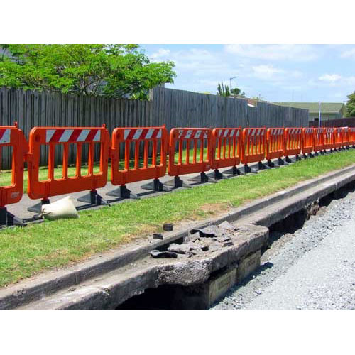 Ped barrier