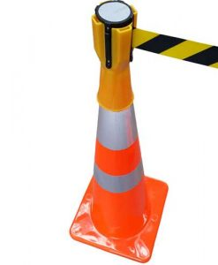 yellow cone topper
