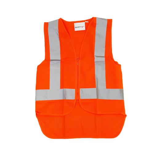 orange zip vest