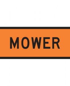 Mower Signs