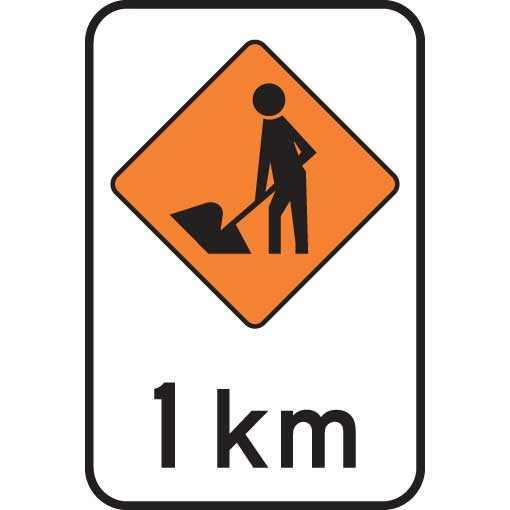 Road Worker 1km Level 2
