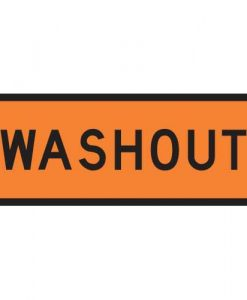 washout signs