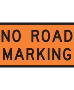 no road marking signs