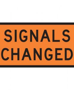 signals changed signs