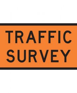 traffic survey signs