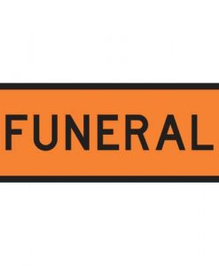funeral signs