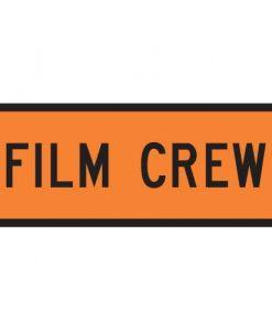 film crew signs