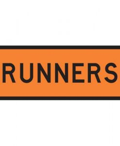 runners road signs