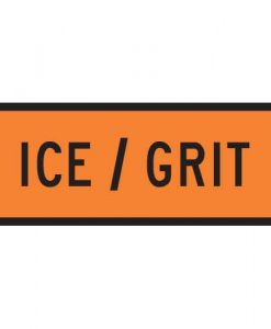 ICE Grit Road signs