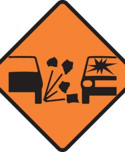 road gravel surface signs