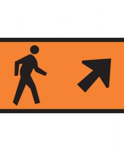 pedestrian direction straight ahead