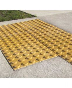 yellow hazard_pavers
