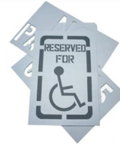 Reserved For Stencils