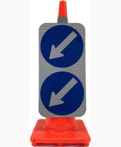 Double Arrow keep left
