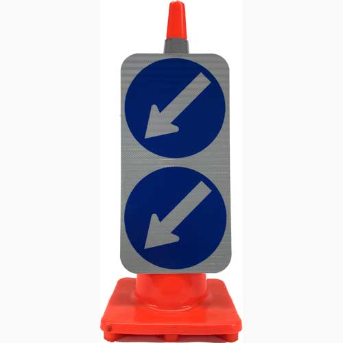Double Arrow keep left