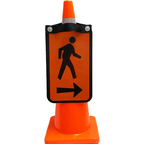 pedestrian double sided