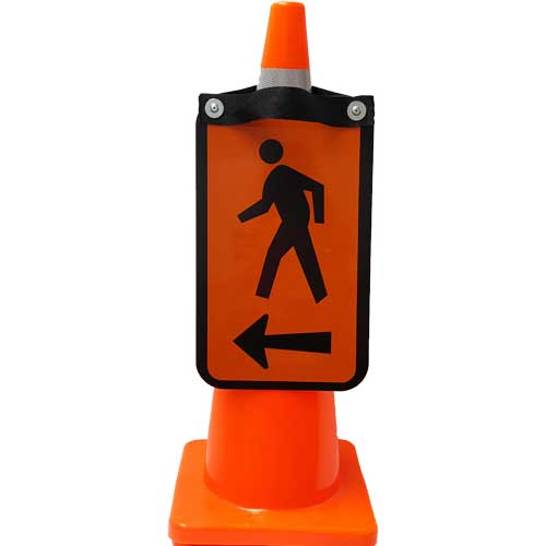 pedestrian double sided Right