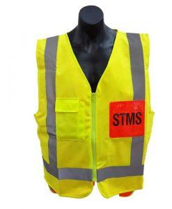 yellow safety hi vis