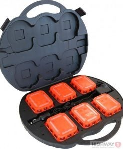 LED Sequential Road Flares Kit - Rechargeable